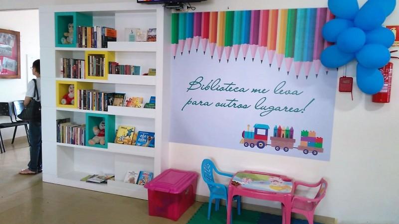 Projeto Incentiva Leitura Em Hospitais Clinicas E Lares De