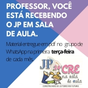 Cartaz do JP na Sala de Aula